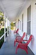 Mess Hall Porch at Irvine Ranch Historic Park
