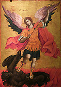 The Archangel Michael by Theodoros Poulakis, late 17th Century.