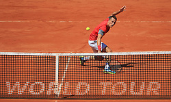 MUNICH, May 7, 2018  Germany's Philipp Kohlschreiber hits a return during the men's singles final match of BMW Open 2018 against his compatriot Alexander Zverev in Munich, Germany, on May 6, 2018. Alexander Zverev won 2-0 to claim the title. (Credit Image: © Philippe Ruiz/Xinhua via ZUMA Wire)