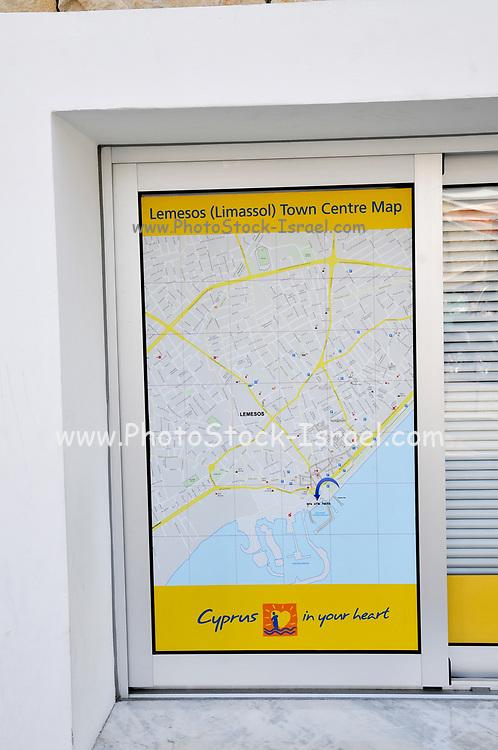 Tourist information office, Limassol, Cyprus