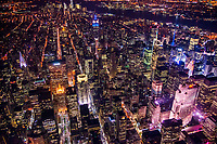 New York City - Midtown Manhattan at Night