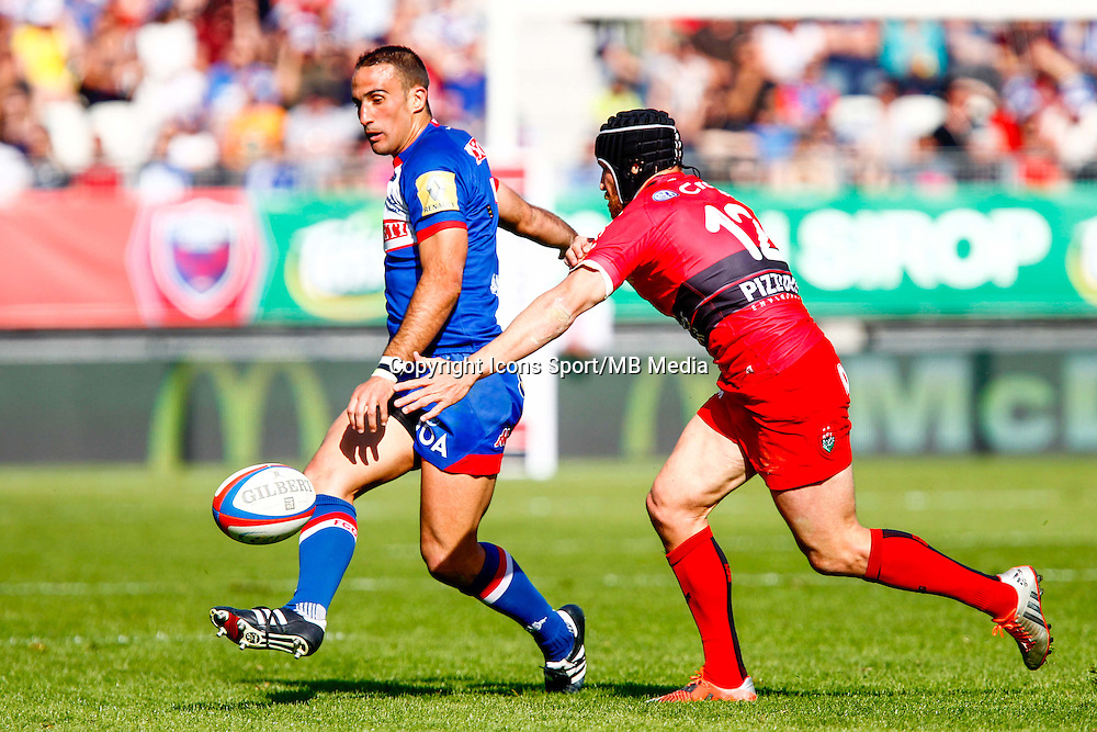 Fabien GENGENBACHER  - 11.04.2015 - Grenoble / Toulon  - 22eme journee de Top 14 <br />
