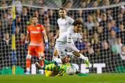 Leeds United forward Helder Costa (17), on loan from Wolverhampton Wanderers, during the EFL Sky Bet Championship match between Leeds United and West Bromwich Albion at Elland Road, Leeds, England on 1 October 2019.