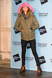 © Licensed to London News Pictures. 16/11/2016. OLIVIA INGE attends the Skate At Somerset House with Fortnum & Mason VIP Party. London, UK. Photo credit: Ray Tang/LNP