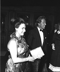 The EARL OF SNOWDON and the COUNTESS BATTY at a ballet at The London Coliseum, London in October 1973.
