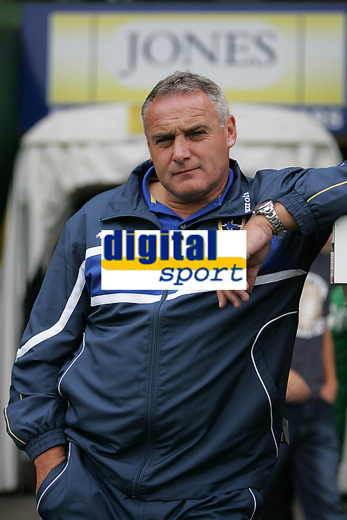 Photo: Lee Earle.<br /> Yeovil Town v Cardiff City. Pre Season Friendly. 21/07/2007.Cardiff manager Dave Jones.