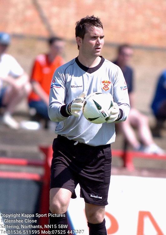 MARK OSBORN KEEPER KETTERING TOWN 2005Kettering Town v Leicester City Pre Season Friendly 10th July 2005 :Photo Mike Capps