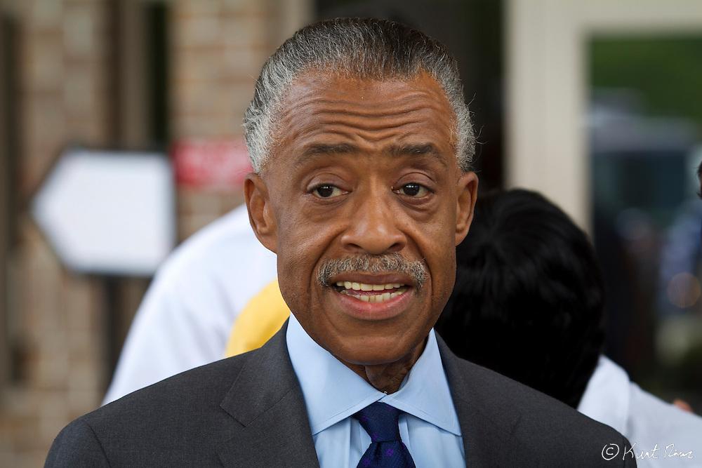 March 31, 2012 - Sanford, Florida, U.S. - Reverend AL SHARPTON in Sanford, Florida for the justice of Treyvon Martin.