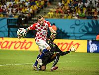 Ivica Olic. Croatia v Cameroon. Group match. FIFA World Cup 2014 Brazil. Arena Amazonia, Manaus. 18 Jun 2014.