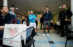 Gregor Krusic, BTC – Medot rekreativni teniški turnir dvojic, on January 13, 2018 in BTC Millenium centre, Ljubljana, Slovenia. Photo by Vid Ponikvar / Sportida