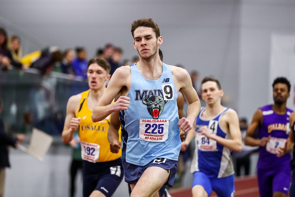 ECAC/IC4A Track and Field Indoor Championships<br /> 800 meters, U Maine, James Olivier