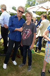 DON FELDER is an American musician and songwriter, best known for his work as lead guitarist for the Eagles and the HON.FREDERICK GORDON-LENNOX at the Cartier 'Style et Luxe' part of the Goodwood Festival of Speed, Goodwood House, West Sussex on 14th July 2013.