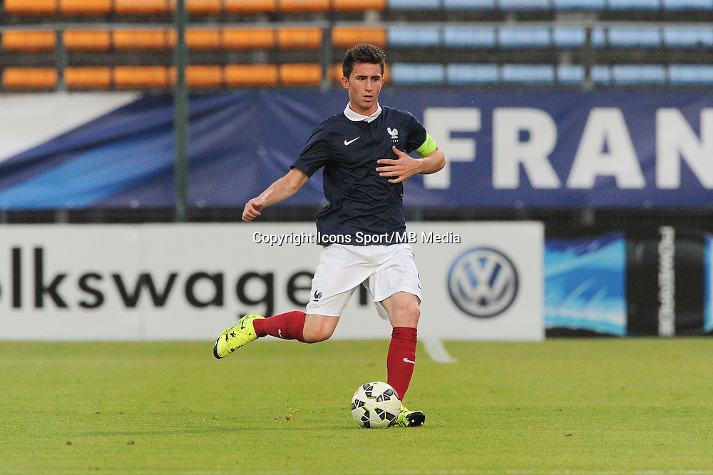 Aymeric LAPORTE - 11.06.2015 - Football espoirs - France / Coree du Sud - Match amical -Gueugnon<br /> Photo : Jean Paul Thomas / Icon Sport