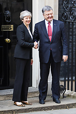 2017-04-19 Theresa May welcomes President Petro Poroshenko of Ukraine to Downing Street