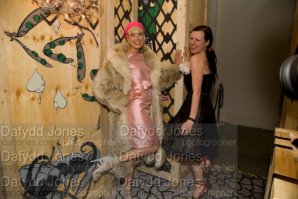 AGYNESS DEYN; KATIE GRAND, Kate Grand hosts a Love Tea and Treasure hunt at Flash. Royal Academy. Burlington Gardens. London. 10 december 2008 *** Local Caption *** -DO NOT ARCHIVE-© Copyright Photograph by Dafydd Jones. 248 Clapham Rd. London SW9 0PZ. Tel 0207 820 0771. www.dafjones.com.<br /> AGYNESS DEYN; KATIE GRAND, Kate Grand hosts a Love Tea and Treasure hunt at Flash. Royal Academy. Burlington Gardens. London. 10 december 2008