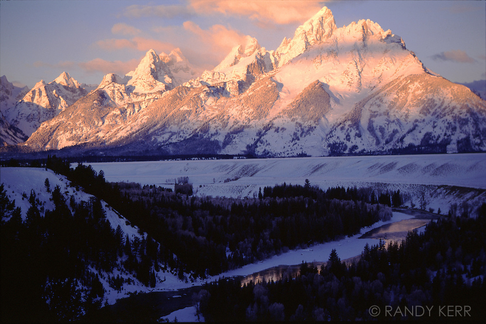 Grand Tetons sunrise