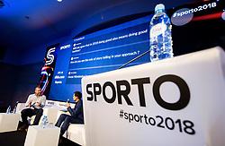during Sports marketing and sponsorship conference Sporto 2018, on November 22, 2018 in Hotel Slovenija, Congress centre, Portoroz / Portorose, Slovenia. Photo by Vid Ponikvar / Sportida