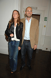 MAX WIGRAM and PHOEBE PHILO at a lunch in aid of African Solutions To African Problems held at Il Bottaccio, 9 Grosvenor Place, London on 20th May 2008.<br /><br />NON EXCLUSIVE - WORLD RIGHTS