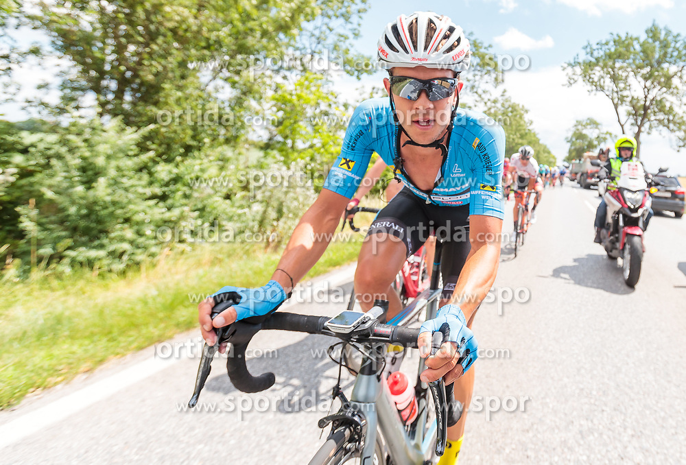 03.07.2017, Wien, AUT, Ö-Tour, Österreich Radrundfahrt 2017, 1. Etappe von Graz nach Wien (193,9 km), im Bild Riccardo Zoidl (AUT, Team Felbermayr Simplon Wels) // Riccardo Zoidl of Austria (Team Felbermayr Simplon Wels) during the 1st stage from Graz to Vienna (193,9 km) of 2017 Tour of Austria. Wien, Austria on 2017/07/03. EXPA Pictures © 2017, PhotoCredit: EXPA/ JFK