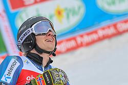26.10.2019, Hannes Trinkl Weltcupstrecke, Hinterstoder, AUT, FIS Weltcup Ski Alpin, Riesenslalom, Herren, 2. Lauf, im Bild Marcus Monsen (SWE) // Marcus Monsen of Sweden reacts after his 2nd run of men's Giant Slalom of FIS ski alpine world cup at the Hannes Trinkl Weltcupstrecke in Hinterstoder, Austria on 2019/10/26. EXPA Pictures © 2020, PhotoCredit: EXPA/ Erich Spiess