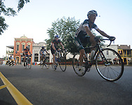 The Oxford Square Criterium as part of the Oxford Endurance Weekend in Oxford, Miss. on Sunday, August 15, 2010.