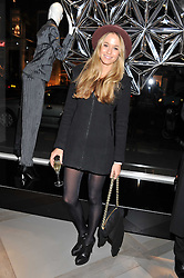 FLORENCE BRUDENELL-BRUCE at a party to celebrate the opening of the new Nicole Farhi global flagship store at 25 Conduit Street, London W1 on 19th September 2011.