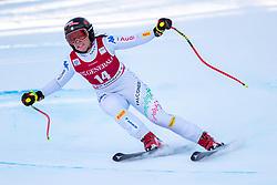 18.12.2018, Saslong, St. Christina, ITA, FIS Weltcup Ski Alpin, Abfahrt, Damen, im Bild Nicol Delago (ITA, 2. Platz) // second placed Nicol Delago of Italy in action during her run in the ladie's Downhill of FIS ski alpine world cup at the Saslong in St. Christina, Italy on 2018/12/18. EXPA Pictures © 2018, PhotoCredit: EXPA/ Johann Groder