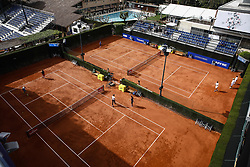 April 23, 2018 - Barcelona, Spain - View of diferents courts in the instalations of the Barcelona Open Banc Sabadell 66 Trofeo Conde de at Reial Club Tenis Barcelona on 23 of April of 2018 in Barcelona. (Credit Image: © Xavier Bonilla/NurPhoto via ZUMA Press)