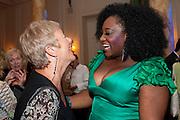 PIPPA AILIAN; SANDRA MARVIN, Aldwych theatre's Cool Hand Luke first night party. Waldorf Hilton. London. 3 October 2011. <br /> <br />  , -DO NOT ARCHIVE-© Copyright Photograph by Dafydd Jones. 248 Clapham Rd. London SW9 0PZ. Tel 0207 820 0771. www.dafjones.com.