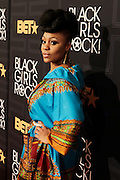 April 1, 2016- Newark, NJ: United States- On-Air Personality Eeshé White attends the 2016 Black Girls Rock Red Carpet Arrivals held at NJPAC on April 1, 2016 in Newark, New Jersey. Black Girls Rock! is an annual award show, founded by DJ Beverly Bond, that honors and promotes women of color in different fields involving music, entertainment, medicine, entrepreneurship and visionary aspects.   (Terrence Jennings/terrencejennings.com)