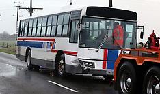 Kaponga-Pupils injured after collision between bus and car