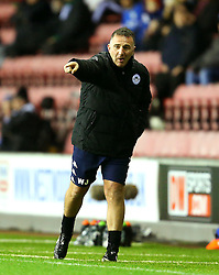 Wigan Athletic manager Warren Joyce shouts instructions to his players - Mandatory by-line: Matt McNulty/JMP - 03/02/2017 - FOOTBALL - DW Stadium - Wigan, England - Wigan Athletic v Sheffield Wednesday - Sky Bet Championship
