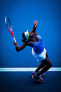 American Sloane Stephens at the 2013 Australian Open - a Grand Slam Tournament - is the opening event of the tennis calendar annually. The Open is held each January in Melbourne, Australia. Sloane Stephens - born March 20, 1993 - is an American tennis player who is currently ranked World No. 26 in the Women's Tennis Association singles rankings.<br /> Following a successful 2012 season in which she first reached the second week of a Grand Slam, Stephens rose to prominence upon reaching the semifinals of the 2013 Australian Open, notably defeating Serena Williams en route. Since then, she has reached a career-high singles ranking of 11 in the world and would claim her first WTA title at the 2015 Citi Open.<br /> Stephens was born in Plantation, Florida to Sybil Smith (who, in 1988 as a swimmer at Boston University, became the first African-American female to be named First Team All-American in Division I history) and John Stephens, a professional American football player. John Stephens was killed in a car accident on September 1, 2009, just before the start of the US Open. Stephens attended her father's funeral in Louisiana, but remained entered in the US Open. <br /> She started playing tennis at the age of nine, at the Sierra Sport and Racquet Club, in Fresno, Ca, where her mother and stepfather introduced her to the sport. Two years later Stephens relocated from Fresno to Boca Raton, Florida, where she began training at the prestigious Evert Tennis Academy. A year later at the age of 12, Stephens stepped up her training once again by joining the Nick Saviano High Performance Tennis Academy, and switching to online-based home-schooling, which allowed her to maximize her time spent on the court. She graduated from high school in 2011. Stephens currently splits time between her home in Florida and Los Angeles, where she trains at the USTA training center in Carson, California.