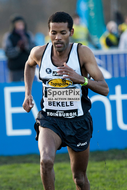 Atelaw Bekele from Belgium fails to impress at the BUPA Cross Country event run at Holyrood in Edinburgh