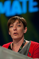 Hazel Danson, NUT, speaking at the TUC Conference 2009...© Martin Jenkinson, tel 0114 258 6808 mobile 07831 189363 email martin@pressphotos.co.uk. Copyright Designs & Patents Act 1988, moral rights asserted credit required. No part of this photo to be stored, reproduced, manipulated or transmitted to third parties by any means without prior written permission.