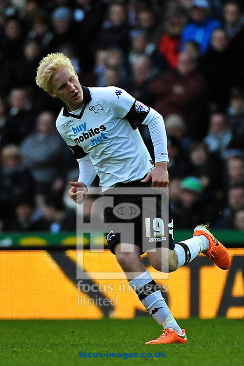 Picture by Ian Wadkins/Focus Images Ltd +44 7877 568959<br /> 05/01/2014<br /> Will Hughes of Derby County during the The FA Cup match at the Ipro Stadium, Derby.