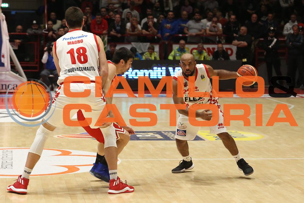 Gordon Jamon<br /> The Flexx Pistoia - VL Pesaro<br /> Lega Basket Serie A 2017/2018<br /> Pistoia, 09/12/2017<br /> Foto Ciamillo - Castoria
