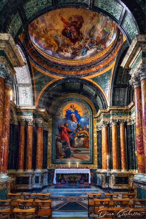 &ldquo;Cybo Chapel - Basilica of Santa Maria del Popolo Rome&rdquo;&hellip;<br />