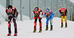 16.12.2011, Casino Arena, Seefeld, AUT, FIS Nordische Kombination, Team Sprint 2* 7.5 km, im Bild Mario Stecher (AUT) // Mario Stecher of Austria during Team Sprint 2* 7.5 km the team competition at FIS Nordic Combined World Cup in Sefeld, Austria on 20111211. EXPA Pictures © 2011, PhotoCredit: EXPA/ P.Rinderer
