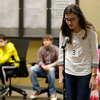 Thomas Wells | Buy at PHOTOS.DJOURNAL.COM<br /> Tupelo Middle School student Nicol Milev was this year's runnerup at the Lee County Spelling Bee.