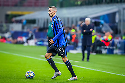 November 6, 2019, Milano, Italy: timoty castagne (atalanta bc)during Tournament round, group C, Atalanta vs Manchester City, Soccer Champions League Men Championship in Milano, Italy, November 06 2019 - LPS/Fabrizio Carabelli (Credit Image: © Fabrizio Carabelli/LPS via ZUMA Wire)