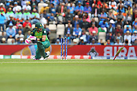 Cricket - 2019 ICC Cricket World Cup - Group Stage: South Africa vs. India<br /> <br /> Faf du Plessis of South Africa takes a ball to the hand and looses his grip on his bat during the cricket world cup match at the Hampshire Bowl Southampton England<br /> <br /> COLORSPORT/SHAUN BOGGUST