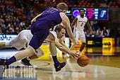 2017 Boise State basketball vs Portland