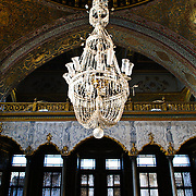 The Imperial Hall (Hünkâr Sofası), also known as the Imperial Sofa, Throne Room Within or Hall of Diversions, is a domed hall in the Harem of the Topkapi Palace, believed to have been built in the late 16th century.