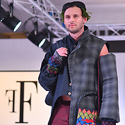 International designers showcases it latest collection at Fashions Finest SS19 - London Fashion Week, UK at De Vere Grand Connaught Rooms on 15 September 2018, London, UK.