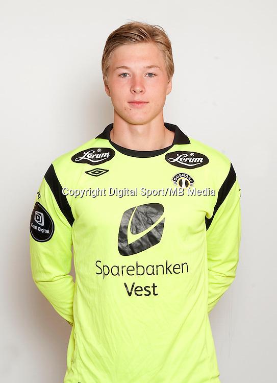 Fotball , Tippeligaen 2013 , Eliteserien , portrett , portretter , Sogndal , Mathias Dyngeland<br /> Foto: Astrid M. Nordhaug