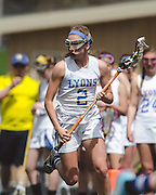 Lyons Township High School Lions O'Fallon Township High School Panthers Girls Lacrosse Photography by Chicago Sports Photographer Chris W. Pestel