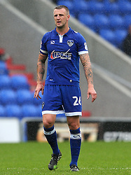 Peter Clarke of Oldham Athletic  - Mandatory by-line: Matt McNulty/JMP - 03/09/2016 - FOOTBALL - Sportsdirect.com Park - Oldham, England - Oldham Athletic v Shrewsbury Town - Sky Bet League One