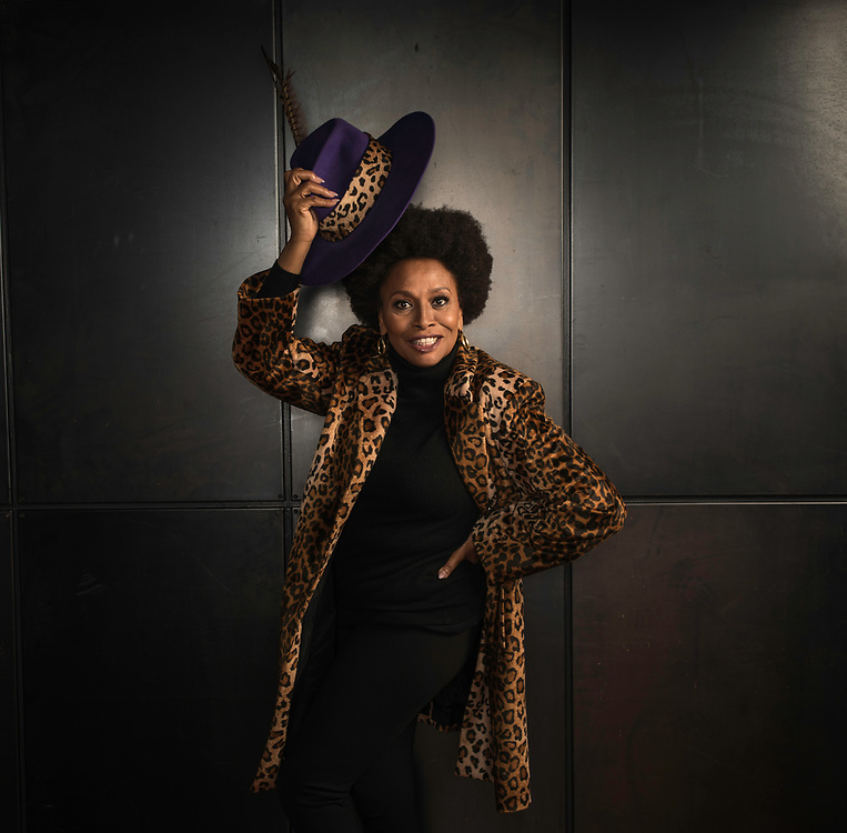 WASHINGTON, DC -- NOVEMBER 18: Veteran actress Jenifer Lewis, known for her current role on the popular sitcom, Blackish, among others, has written a new book, The Mother of Black Hollywood…. (photo by Andre Chung for The Washington Post)