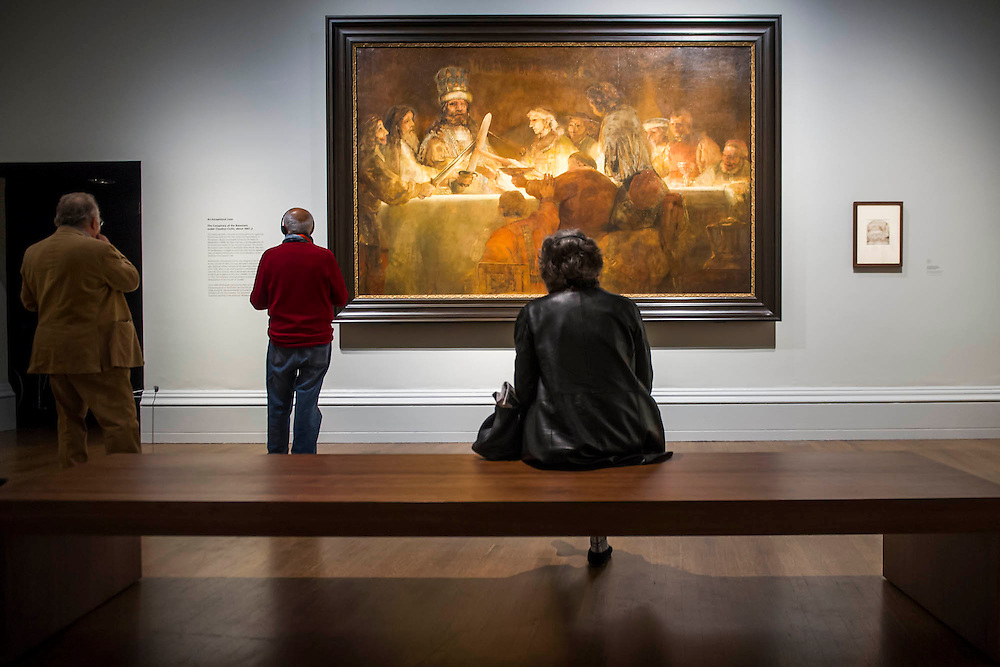 The Conspiracy of the Batavians -  Rembrandt: The Late Works, a new  exhibition sponsored by Shell - the first ever in-depth exploration of Rembrandt's final years of painting. It features 'unprecedented' loans from around the world and is an opportunity to experience the 'passion, emotion and innovation' of the great master of the Dutch Golden Age.  The exhibition runs from 15 October 2014 - 18 January 2015